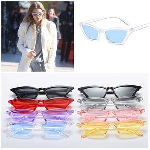 Accessories - ✨New! Le Slim Chic Cat Eye Sunnies Blue Lens